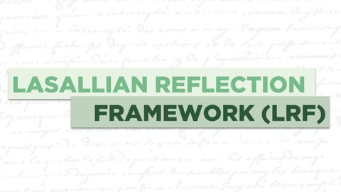 Page 25 of The Lasallian Reflection Framework