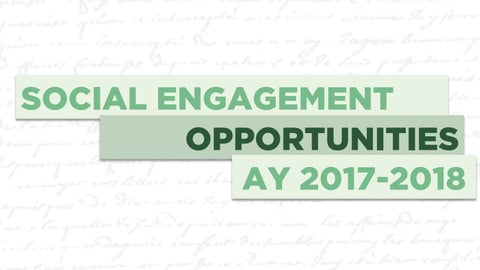 Page 38 of Social Engagement Opportunities