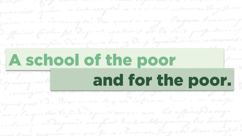 Page 5 of A School of the poor, and for the poor.