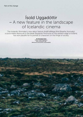 Page 36 Of Isold Uggadottir Is A New Feature In The Landscape Icelandic Cinema