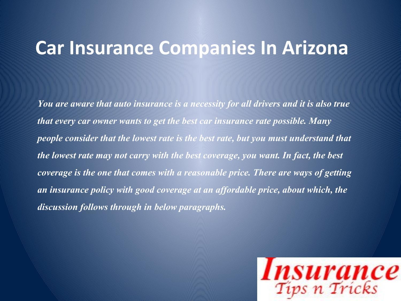 Cheap Insurance Companies >> Cheap Car Insurance Companies In Arizona By Sherryhardi Issuu