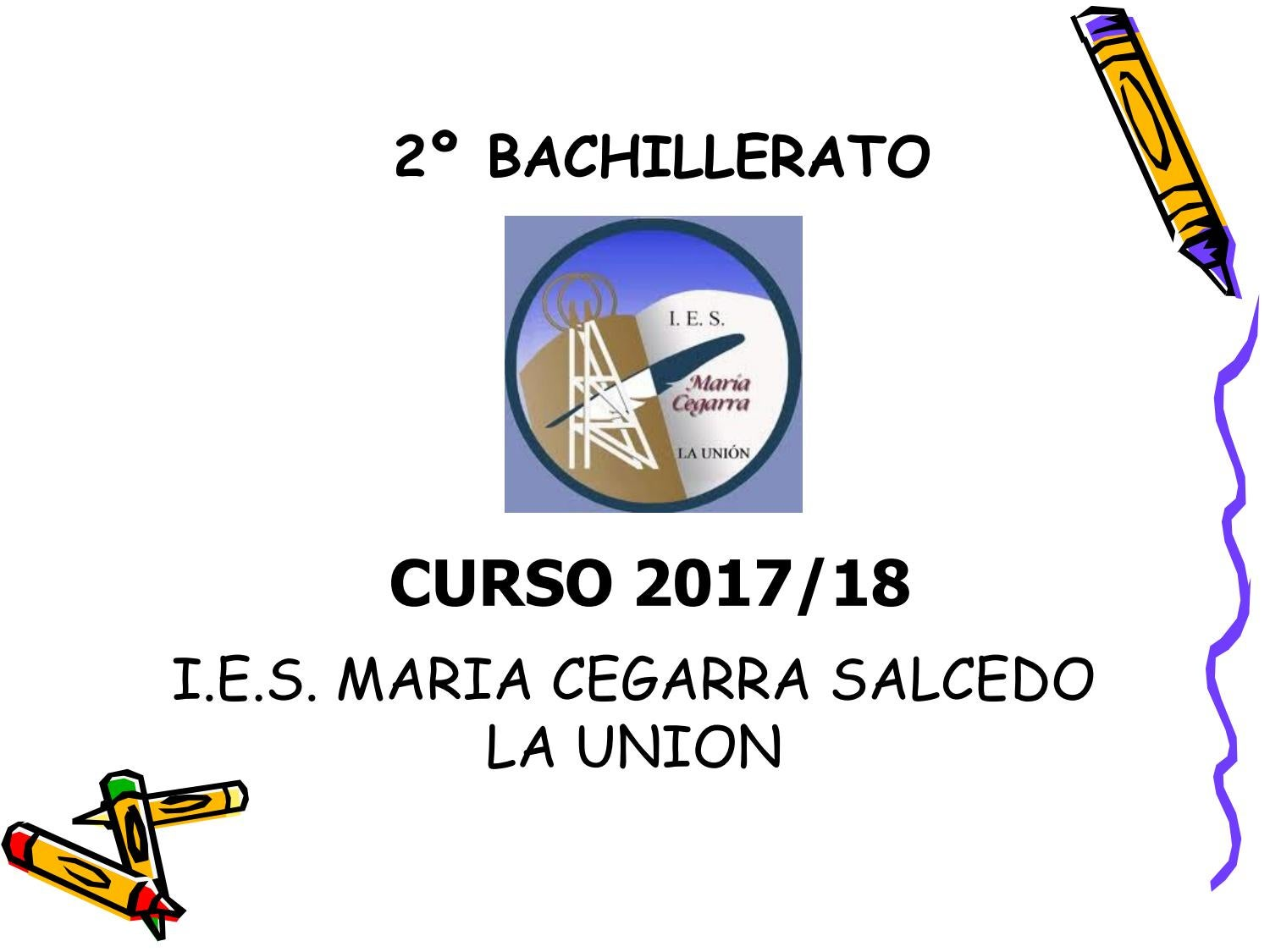 Power Point Orientacion 2º Bach 2018 Padres By Aseschill Issuu