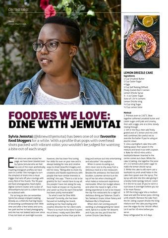 Page 22 of FOODIES WE LOVE