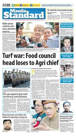 f21fc7b3543d27 Manila Standard - 2018 April 18 - Wednesday by Manila Standard - issuu