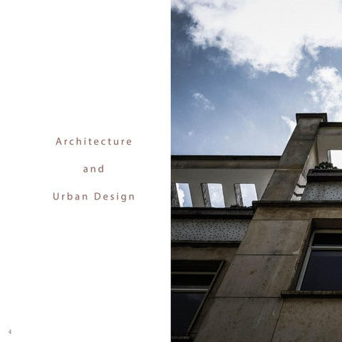 Page 4 of Architecture and Urban Design