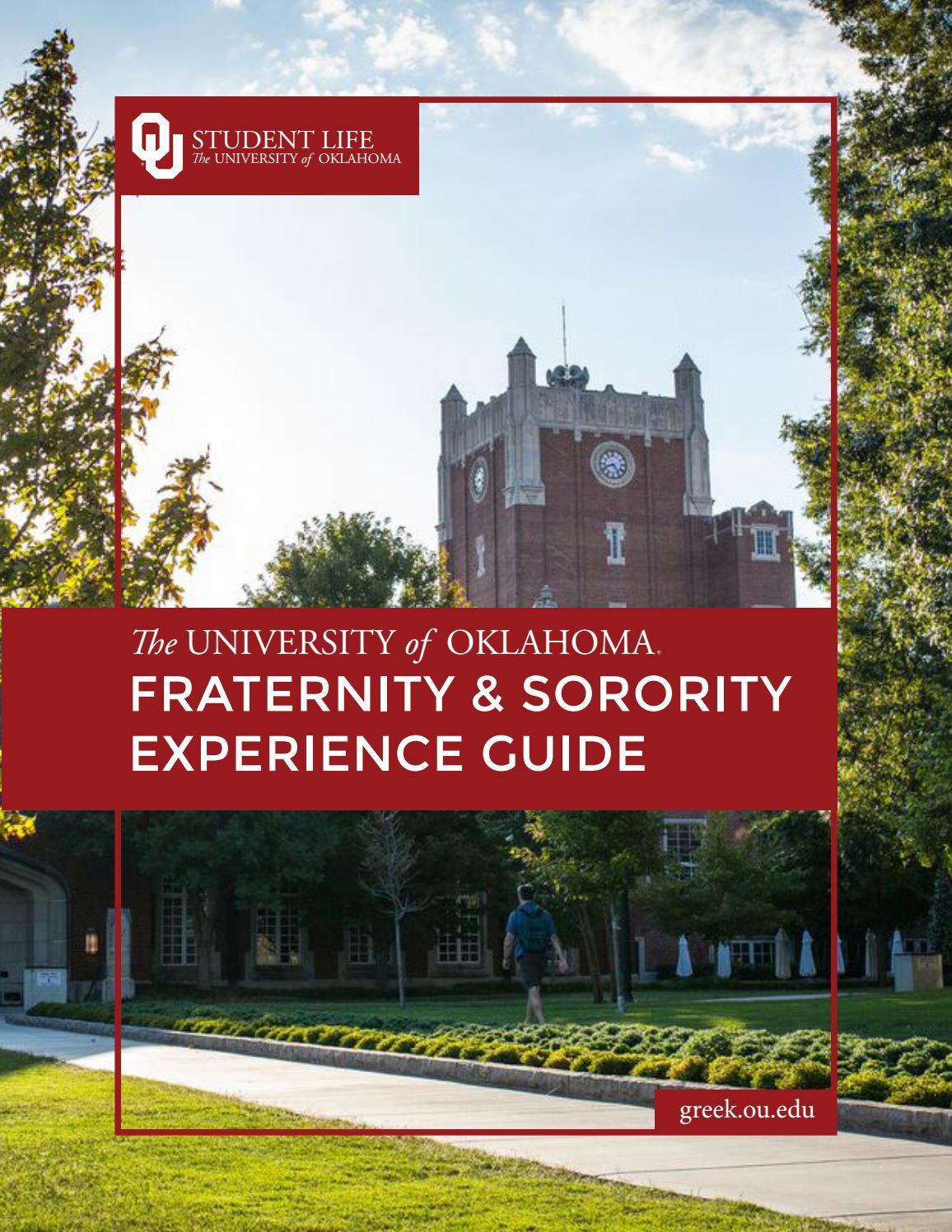 2018 University of Oklahoma Fraternity & Sorority Experience