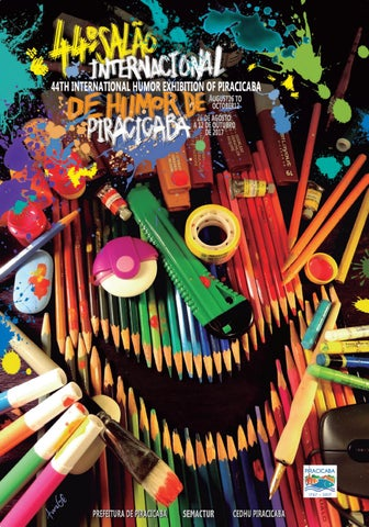 d2d43e70af Catalogo 42º Salão Internacional de Humor de Piracicaba