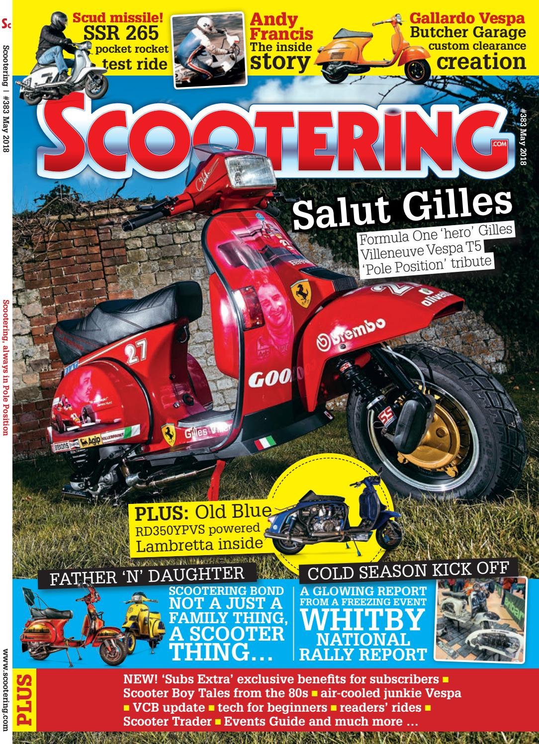 Scootering May 2018 by Mortons Media Group Ltd - issuu