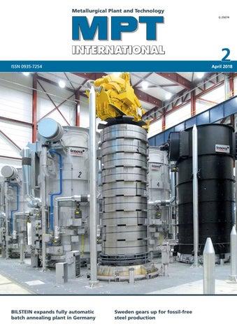 MPT International 2/2018 (Apr) by MPT Metallurgical Plant