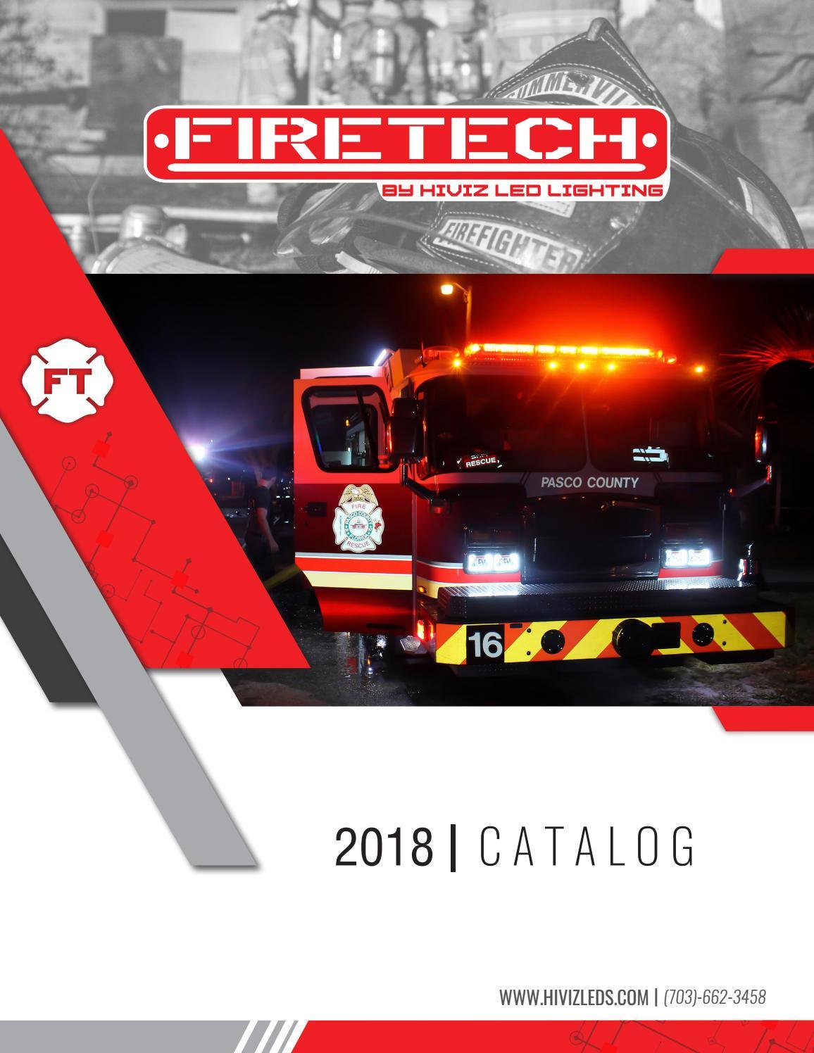2018 Firetech Scene Lighting Catalog By Hiviz Led Issuu Light Bar Additionally 12v Wiring On Flood Hid Work