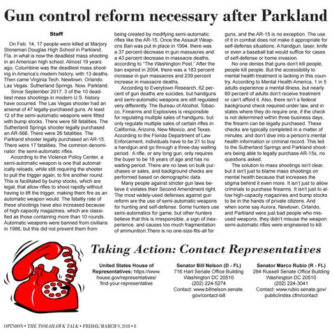 Page 8 of Gun control reform necessary after Parkland