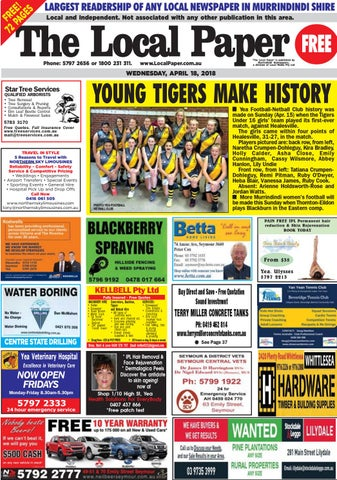 online store 6de8d 3d94d S LARGEST READERSHIP OF ANY LOCAL NEWSPAPER IN MURRINDINDI SHIRE E E E Local  and Independent. Not associated with any other publication in this area.