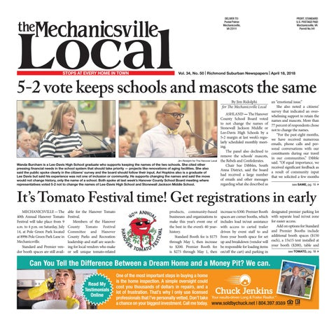 04 18 By The Mechanicsville Local Issuu