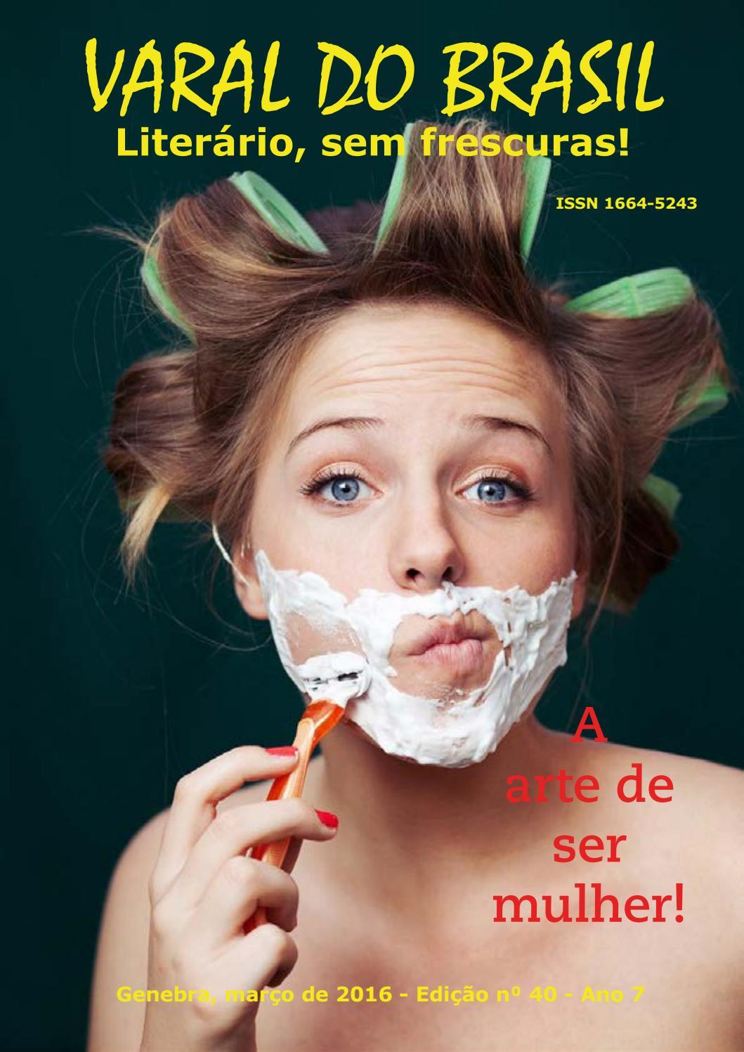 65e84fbe9 Revista Varal do Brasil - ed 40 - março de 2016 by Ana Rosenrot - issuu