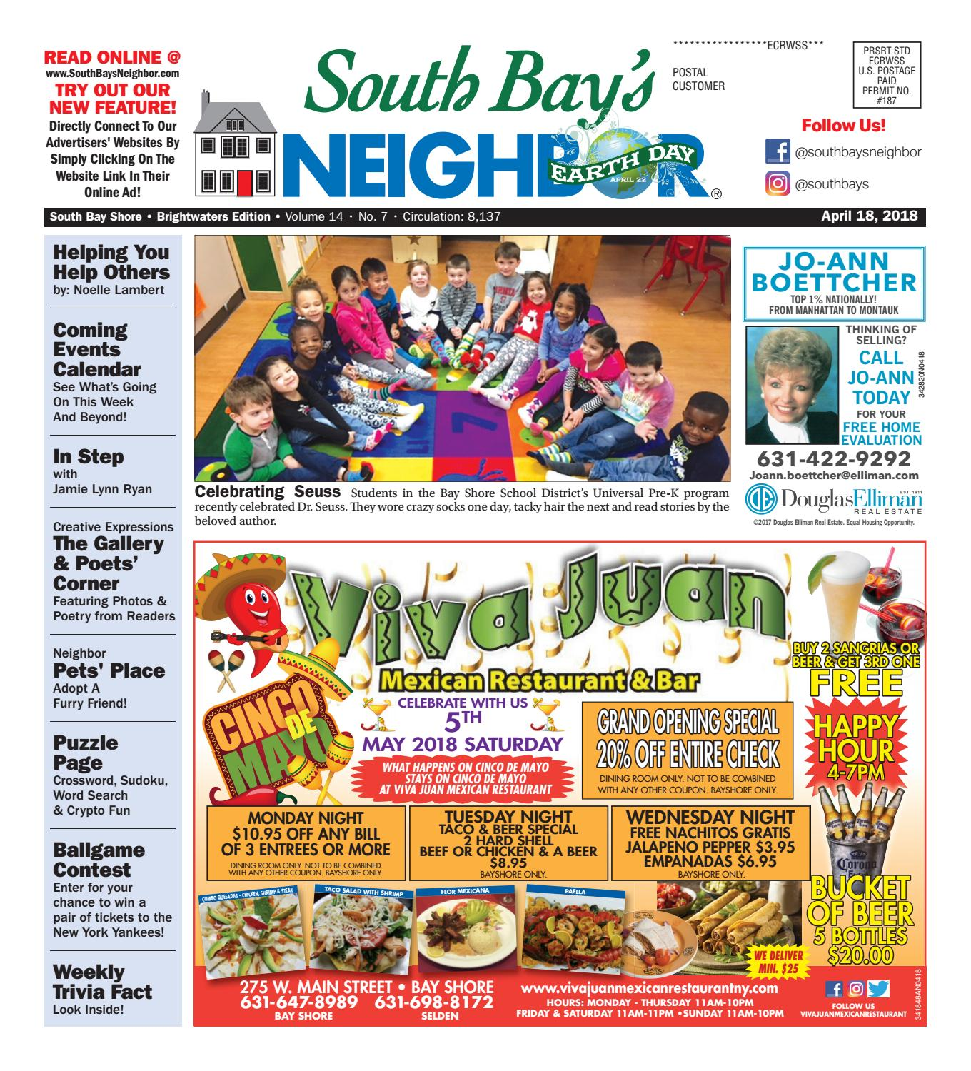 April 18th, 2018 South Bay Shore by South Bay's Neighbor Newspapers