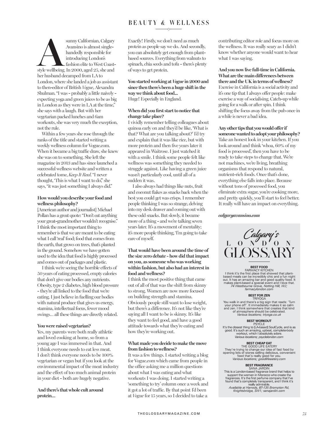 The Glossary Spring 2018 by Neighbourhood Media - issuu