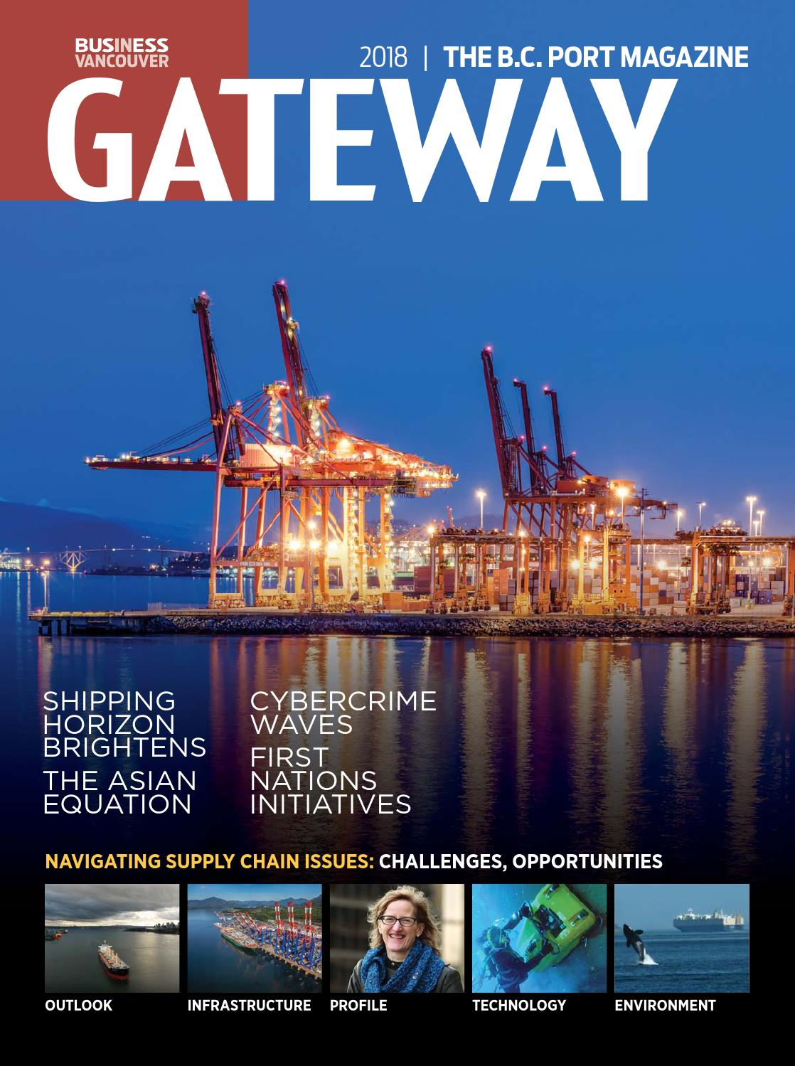 Gateway 2018 by Business in Vancouver Media Group - issuu