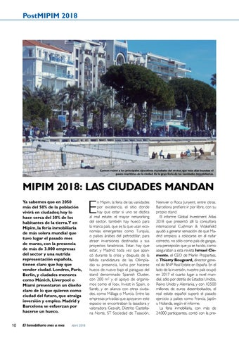 Page 10 of Post MIPIM 2018