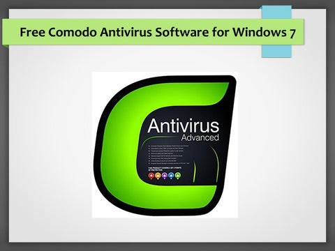 Comodo antivirus latest version 2019 free download.
