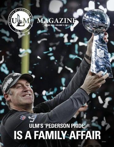 ULM MAGAZINE SPRING 2018 • VOLUME 17, NO  2 by University of