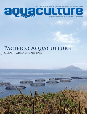 Aquaculture Magazine August / September 2017 Volume 43 Number 4 by