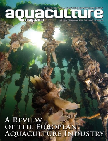 b06730cad0a2 Aquaculture Magazine October   November 2016 Volume 42 Number 5 by ...
