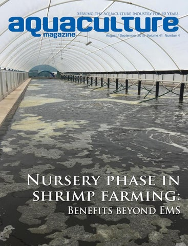 Aquaculture Magazine August / September 2015 Volume 41 Number 4 by