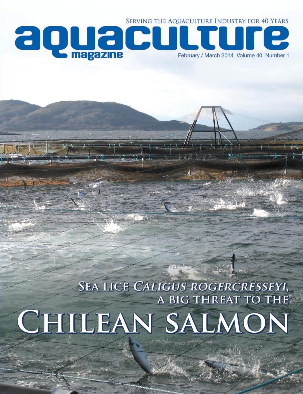 Aquaculture Magazine  February - March 2014 Volume 40 Number