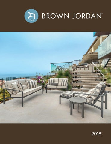 Sensational Brown Jordan Catalog 2018 By Brown Jordan Issuu Download Free Architecture Designs Scobabritishbridgeorg