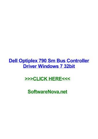 DELL OPTIPLEX 790 SM BUS CONTROLLER WINDOWS 8 DRIVERS DOWNLOAD