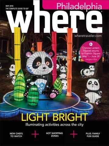 Where Magazine Philadelphia May 2018 by Morris Media Network