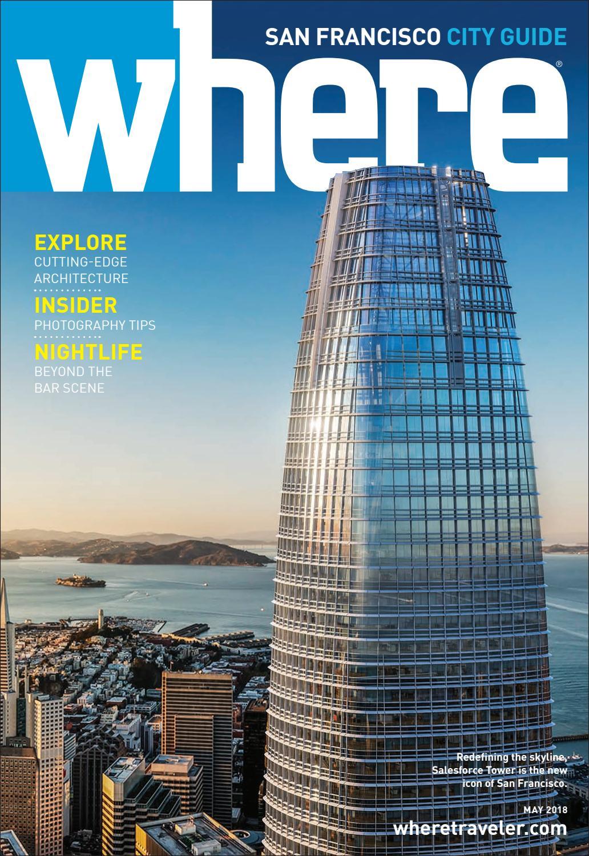 Where Magazine San Francisco May 2018 by Morris Media Network - issuu