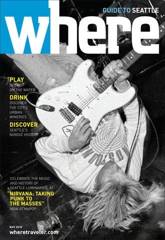Where Magazine Seattle May 2018