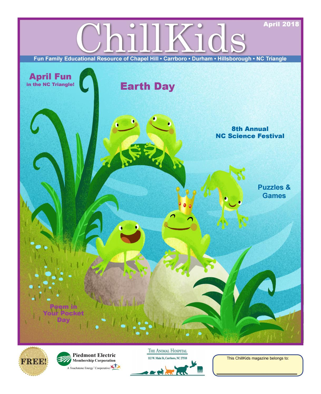chillkids 2018 04 family magazine nc triangle april 2018 by chill kids issuu - 30 Limerick Examples Funny Cooperative