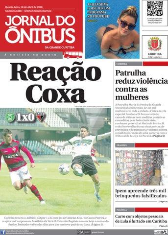 2cb3df328 Jornal do Ônibus de Curitiba - Edição do dia 18-4-2018 by Editora ...