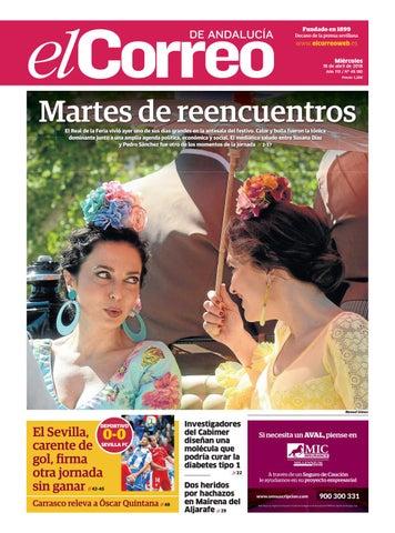7dc74a5bf1 18.04.2018 El Correo de Andalucía by EL CORREO DE ANDALUCÍA S.L. - issuu