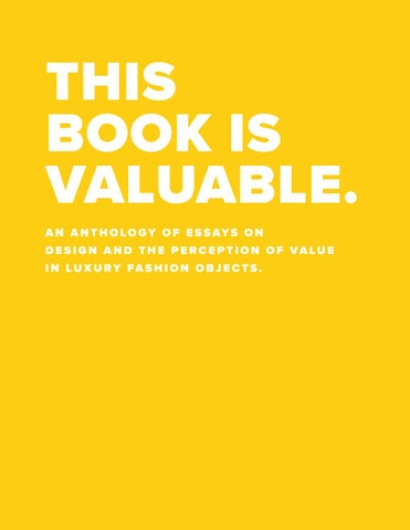 This Book is Valuable by Carlos Velasco - issuu ce979535d583