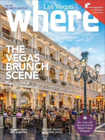 5b64f990ab0cb Where Magazine Las Vegas May 2018 by Morris Media Network - issuu