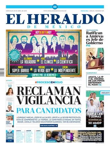 20789cc3b5042 Heraldo 18 de abril by El Heraldo de México - issuu