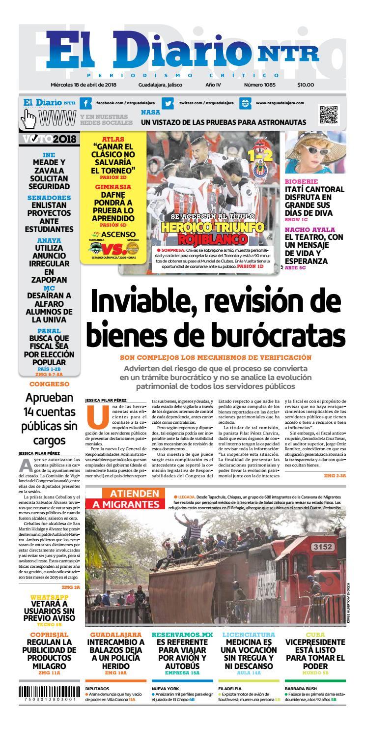 El Diario NTR 1085 by NTR Guadalajara - issuu