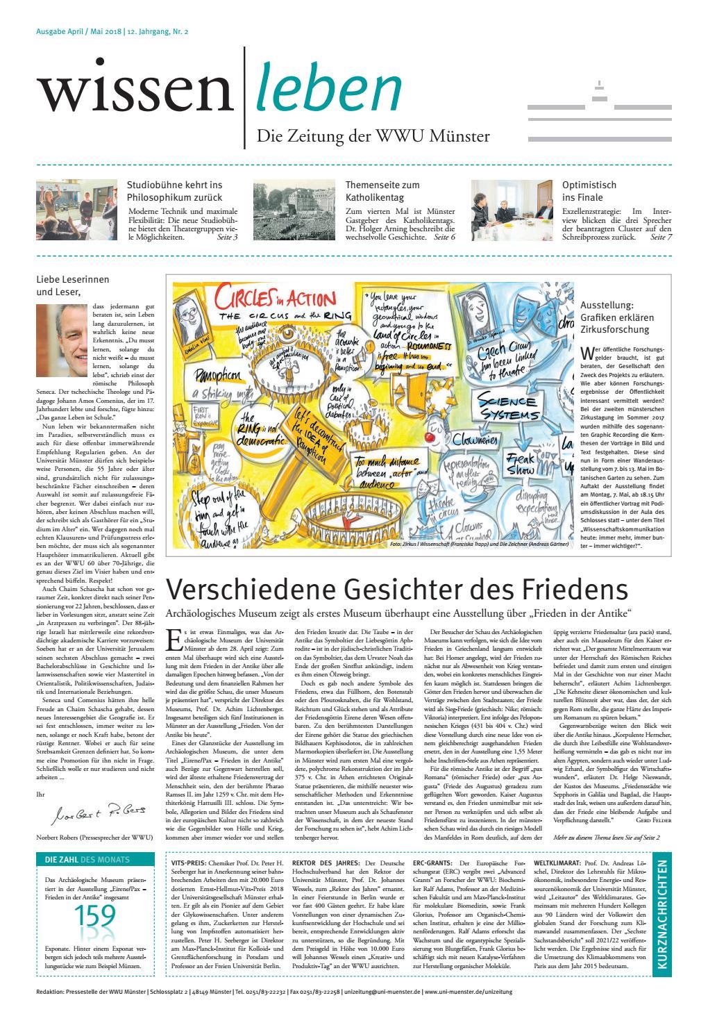 wissen|leben Nr. 2 2018 by Westfälische Wilhelms-Universität Münster - issuu