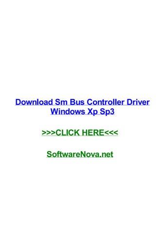 SM WINDOWS BUS TÉLÉCHARGER PILOTE CONTROLEUR XP DE