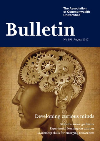 The Bulletin No191 August 2017 By The Association Of Commonwealth