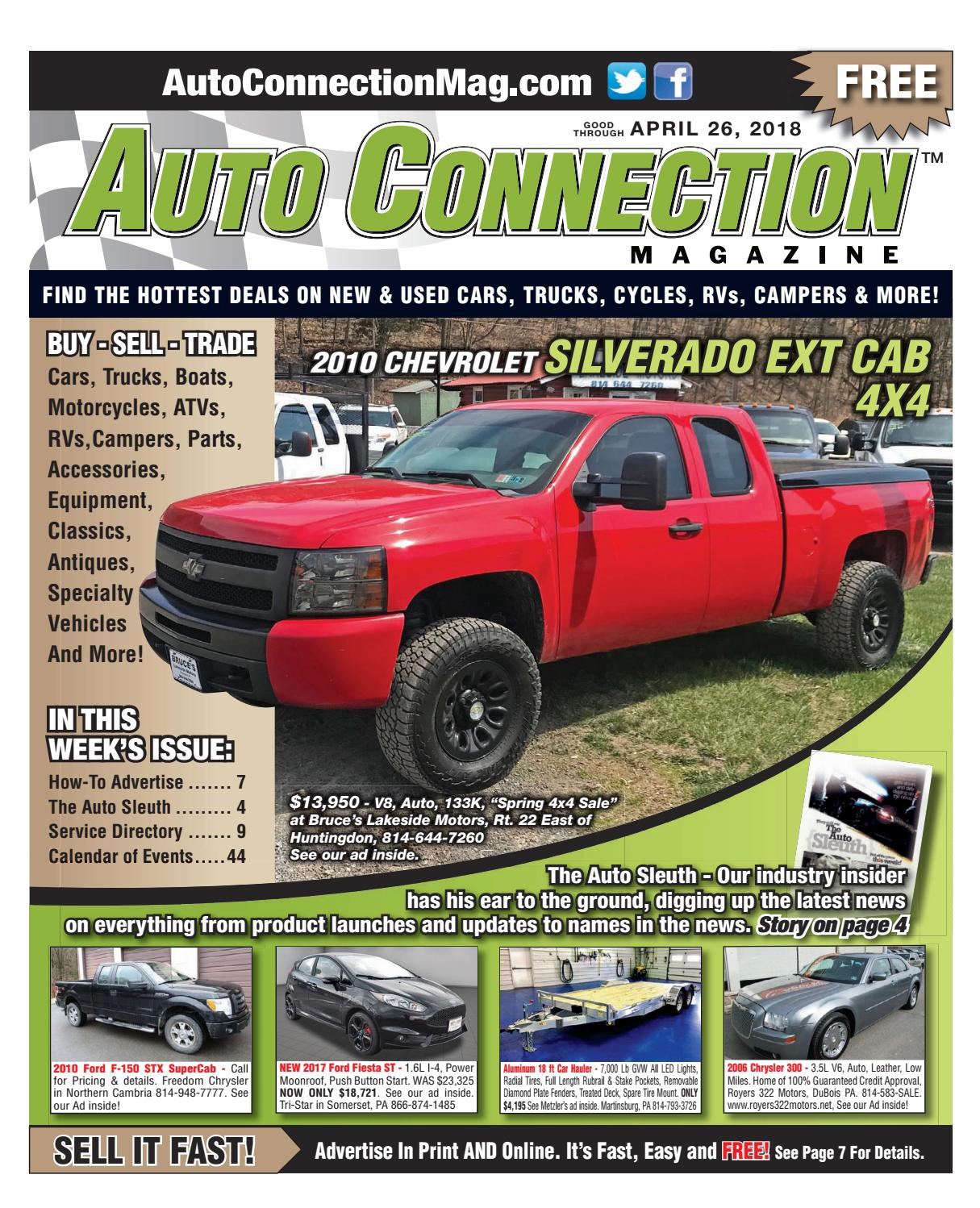 7384f41fd981 04-26-18 Auto Connection Magazine by Auto Connection Magazine - issuu
