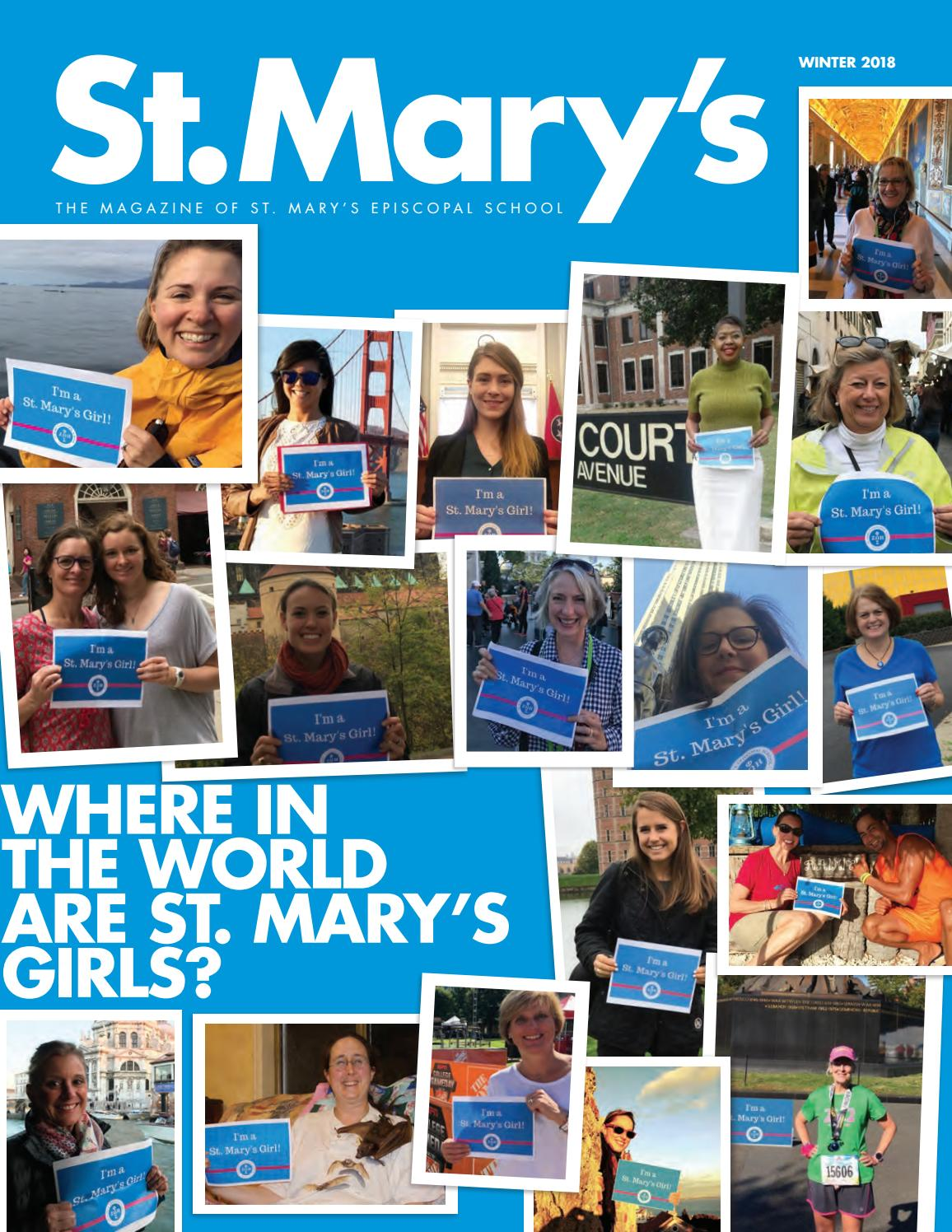 St  Mary's Winter Magazine 2018 by St  Mary's Episcopal