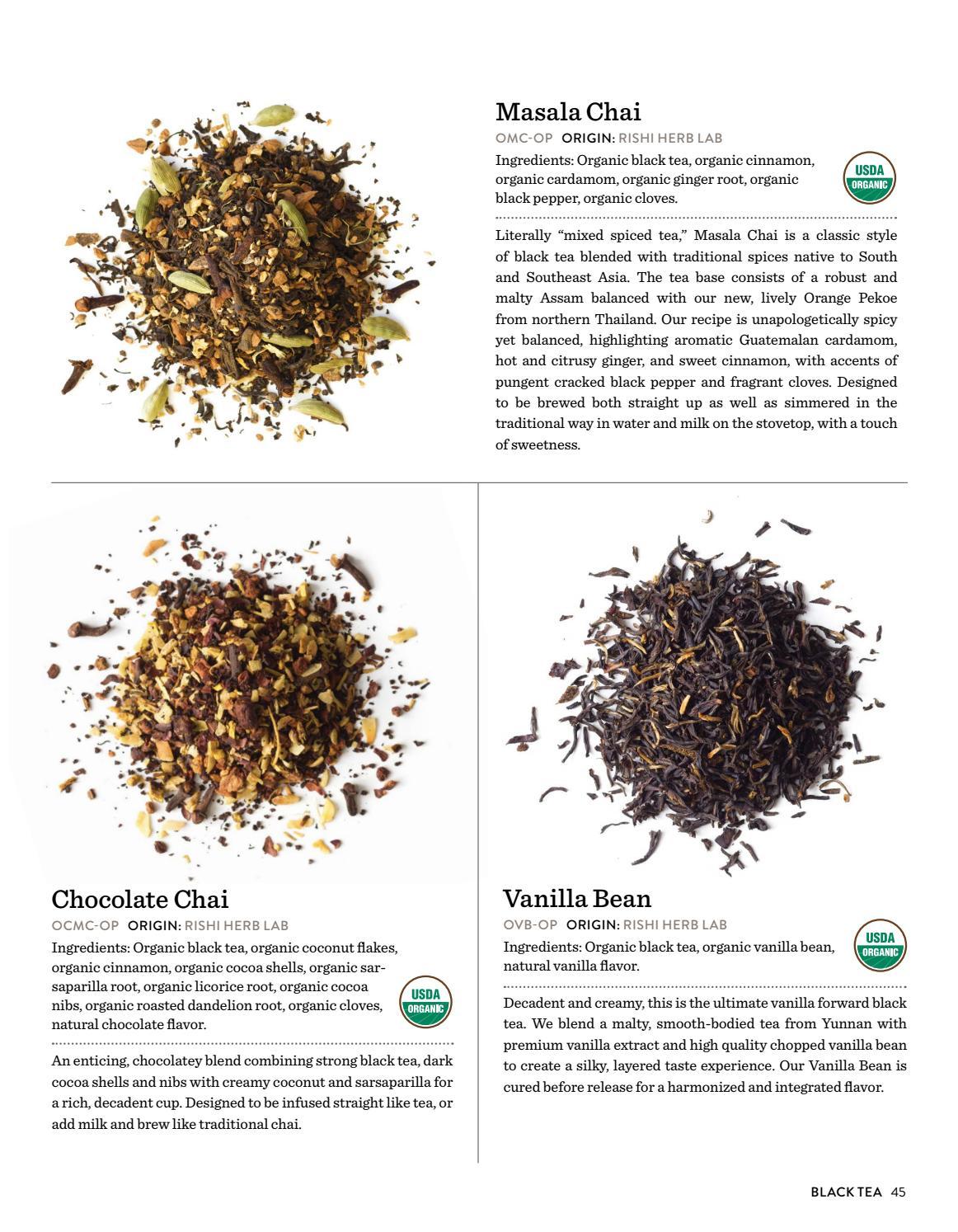 Rishi Tea & Botanicals Lookbook by Rishi Tea - issuu