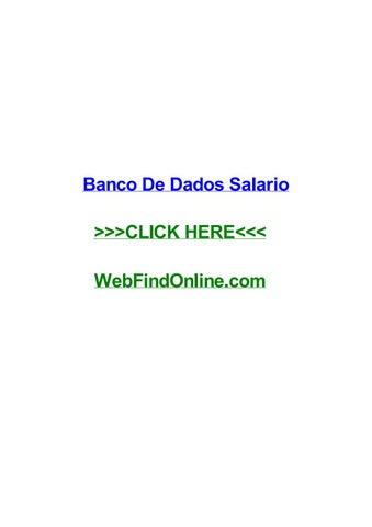 Banco de dados salario by jeffreyxyoud issuu banco de dados salario banco de dados salario state of kansas curso online ciee pr cursos gratuitos online tcu art142 3o iv e v da constituio federal fandeluxe Choice Image