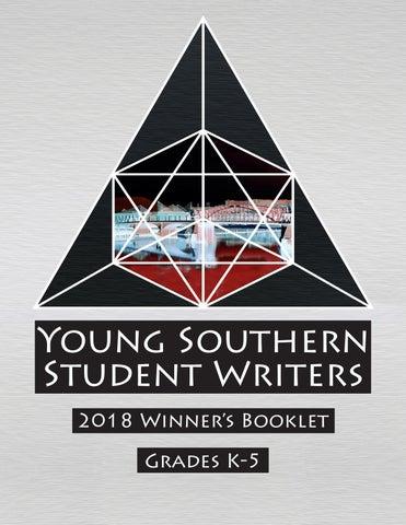 Young Southern Student Writers - Winners 2018 by Joe Wilferth - issuu