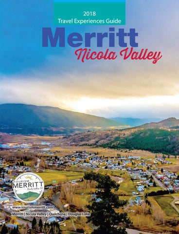 a1b7d39af4 2018 Merritt Nicola Valley Visitors Guide by Merritt Herald - issuu