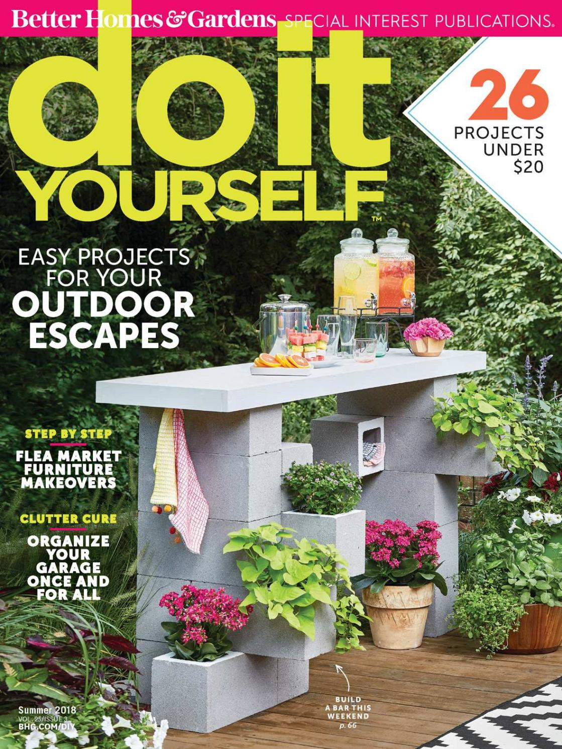 Bhg Do It Yourself 2018 Summer By The Manager Issuu Repurposed Circuit Boards Recycled Board Clipboards